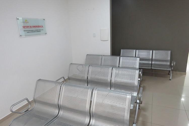 Sala de espera setor emergência